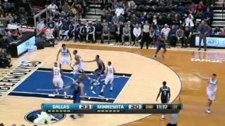 Dallas Mavericks vs Minnesota Timberwolves - March 10, 2013