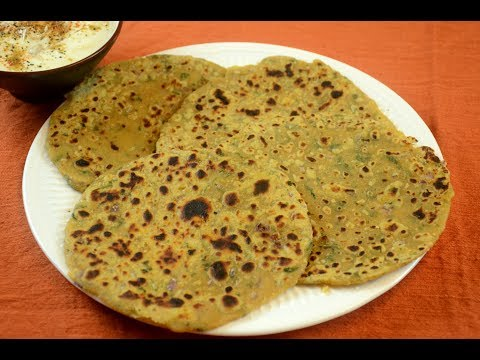 Missi Roti | Besan Mixed Masala Roti | Healthy Breakfast Recipe