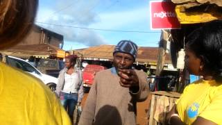 Vicky Ngamsha with Mental health people at Kumbo Cameroon 2015