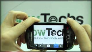 How to Use the Camera on BlackBerry Torch 9800