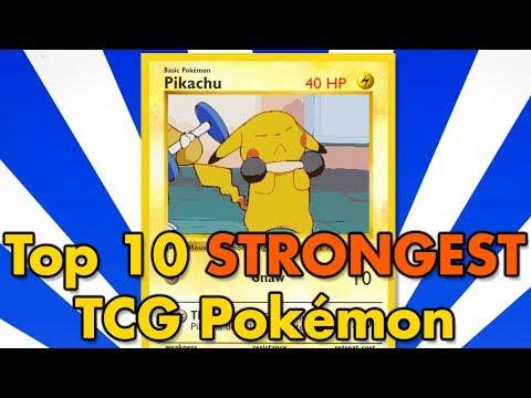 Top 10 All-Time Strongest TCG Pokémon