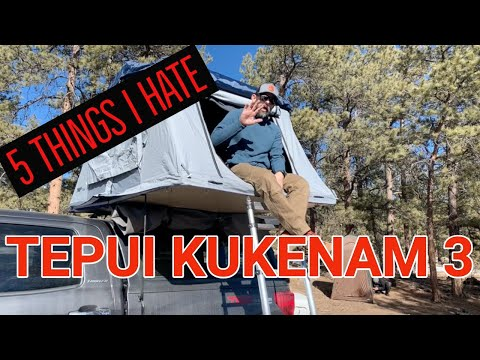 Watch THIS BEFORE you BUY a Thule Tepui Explorer Kukenam 3 Roof Top Tent
