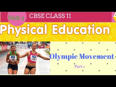 Olympic Movement class 11 Physical Education in Hindi