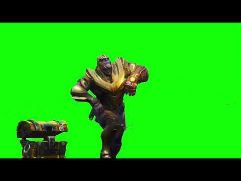 Thanos default dance green screen - OldCandyPlaz 2 0