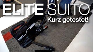 Elite Suito Smart-Rolldentrainer kurz getestet auf der Eurobike 2019