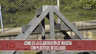 Como es la elaboracion de madera con plásticos reciclados - TvAgro por Juan Gonzalo Angel Restrepo