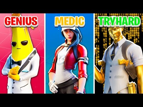 GENIUS vs MEDIC vs TRY HARD Fortnite