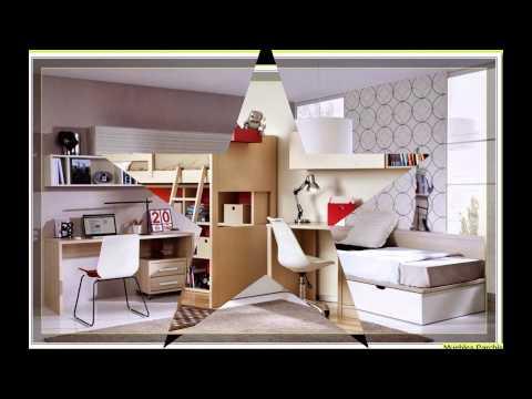 Dormitorios infantiles compartidos  Habitaciones para Niñas