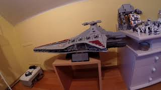 LEGO MOC Star Wars UCS Venator Star Destroyer - 5414 pcs / LEPIN 05077 SPEED BUILD