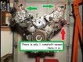 Infiniti V8 Codes P0340, P0335. Camshaft & Crankshaft Sensor. M45, Q45, FX45 Nissan VK45DE