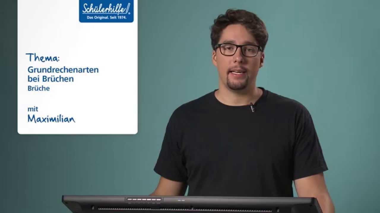 Schülerhilfe Lernvideo // Mathe // Grundrechenarten bei Brüchen