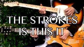 Is This It - The Strokes ( Guitar Tab Tutorial & Cover )