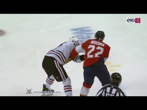 Troy Brouwer vs. Brandon Manning