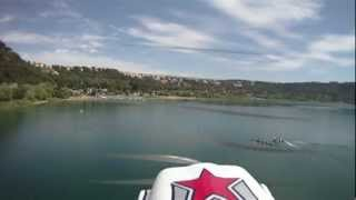 preview picture of video 'Ripresa aerea - Castel Gandolfo (lago di Albano)'