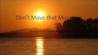 Don't Move that Mountain, Jackson and Springfield, Church of God