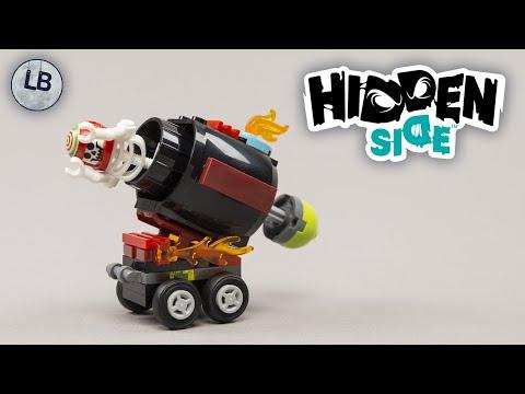 Vidéo LEGO Hidden Side 30464 : Le canon d'El Fuego (Polybag)
