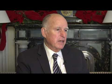 "California Gov. Jerry Brown says leaders are ""sound asleep"" as the world faces unprecedented climate disruption. In an interview with the AP, Brown spoke about the climate crisis and the 2020 presidential campaign. (Dec. 19)"