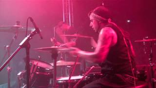 Dive With HALESTORM - Last Call Romance - Drum Cam At Xfinity Live!