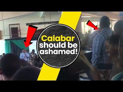 WOW! Calabar students Chant KC ah B-MAN SKOOL