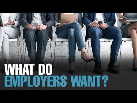 NEWS: The right skill set for today's jobs market (видео)