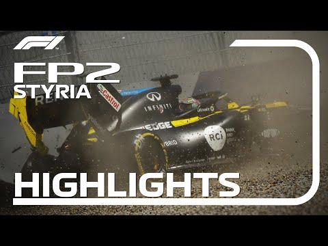 F1 2020 第2戦ピレリ・シュタイアーマルクGP FP2ハイライト動画