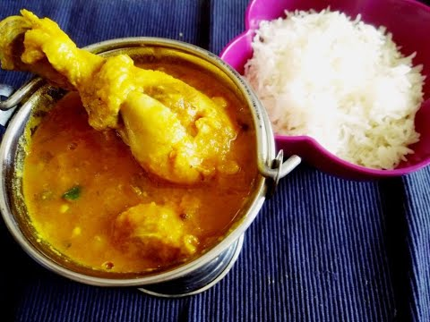 Dal Chicken- YouTube | Chicken Dal Gosht| indrani's kitchen