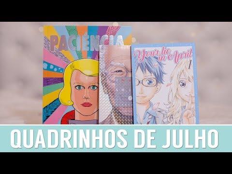 Leituras de Julho: Mangás + HQ + Graphic Novel
