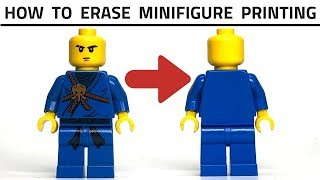 how to make custom lego minifigures without paint - Free video