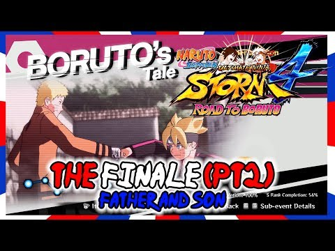 Naruto Shippuden Ultimate Ninja Storm 4 Walkthrough - Road to Boruto