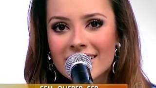 ABRI OS OLHOS - #Sandy E #Junior (Ao Vivo - TV - 2007)