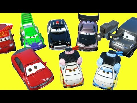 NEW COLLECTION 2016 DISNEY PIXAR CARS LA SPEEDWAY CRUISIN TOKYO SHERIFFS IMPOUND TUNERS DRIFT RACING