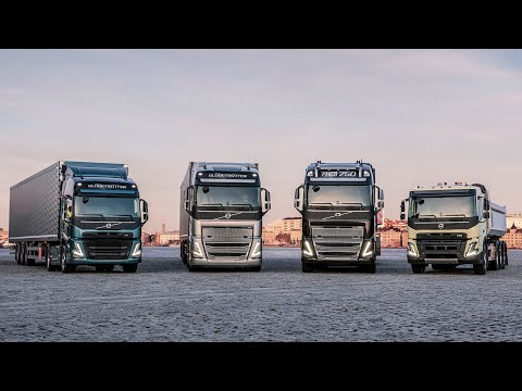 Volvo Trucks – Introducing a whole new range of trucks