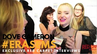 Dove Cameron interviewed at the 23rd Annual Race To Erase MS Gala #EraseMS #LivAndMaddie