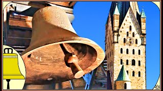 preview picture of video 'Paderborn Dom, St Libori: Glocken der Katholische Kirche (Plenum)'