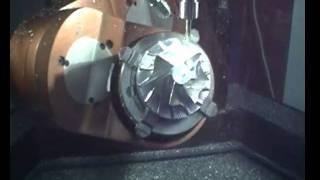 Cybaman – Turbo Compressor – 6 Axes CNC Aerospace Machining : 1