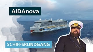 AIDAnova: Schiffsrundgang mit Boris Becker