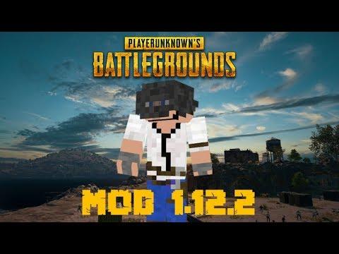 PUBGMC MOD (1.12.2)! PLAY BATTLEGROUNDS EN MINECRAFT! Minecraft review en español 2018