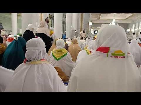 Suasana Saat Menunggu Sholat Subuh di Masjidil Haram
