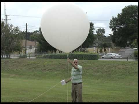 National Weather Service - Weather Balloon Launch