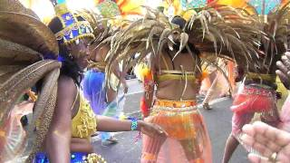 preview picture of video 'Guimbo All Stars - Grande Parade du Mardi Gras de Basse-Terre, Guadeloupe 2012'