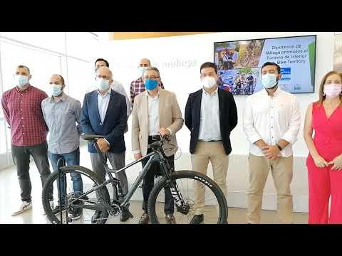 La Diputación de Málaga, primera institución que se suma al gran proyecto de cicloturismo que fomenta la Federación Española de Ciclismo
