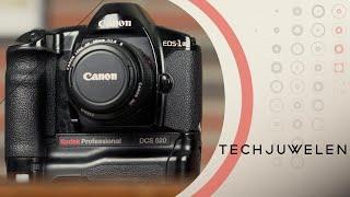 Techjuwelen - Canon D2000 - De eerste moderne dslr