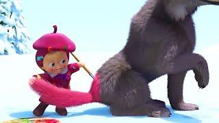 Маша и Медведь - первые серии - Картина маслом (27 Серия), Синяя борода (20 Серия)