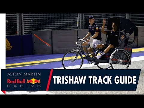 The Singapore Trishaw |  Max Verstappen and Daniel Ricciardo's Marina Bay Track Guide