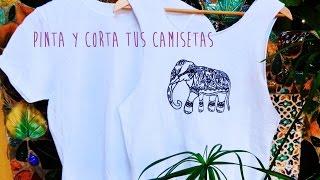 Como Cortar Camisetas (fácil) - How To Cut T-shirt (Easy)