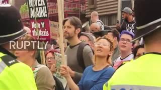 UK: Britain First anti-Islam demo sparks chaos in Birmingham