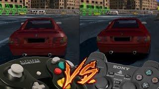 GameCube Vs PlayStation 2 - Burnout