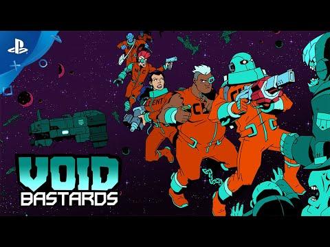 Void Bastards - Launch Trailer   PS4 de Void Bastards