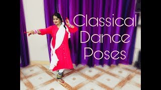 Classical Dance Poses || Poses For Taking Pictures.