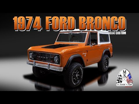 Video of '74 Bronco - PXCR